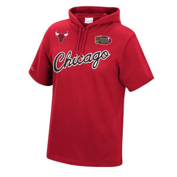 Mitchell & Ness Men's Chicago Bulls Short Sleeve Hoodie product image