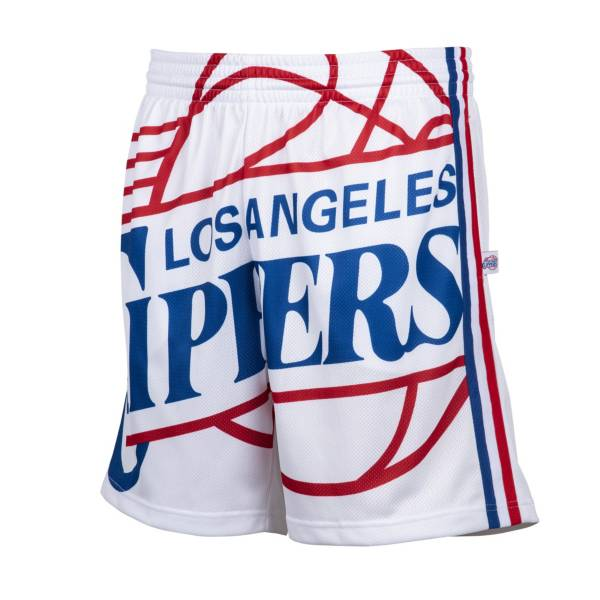 Mitchell & Ness Men's Los Angeles Clippers Big Face Shorts product image