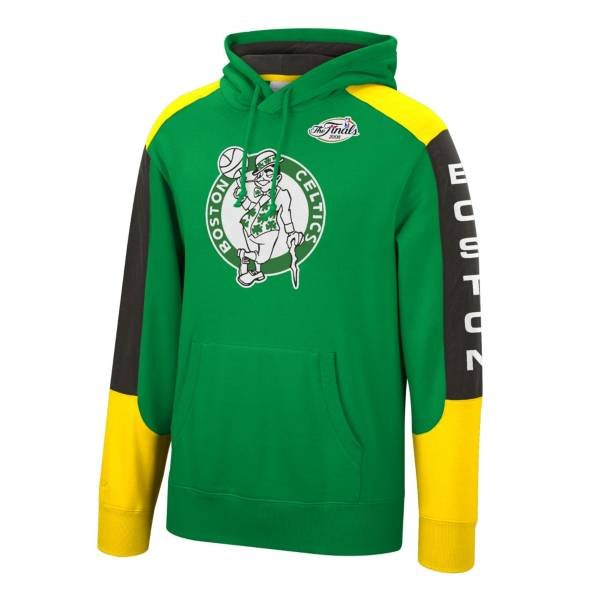Mitchell & Ness Men's Boston Celtics Green Fusion Pullover Hoodie product image