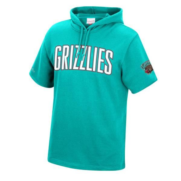 Mitchell & Ness Men's Memphis Grizzlies Short Sleeve Hoodie product image
