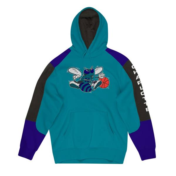 Mitchell & Ness Men's Charlotte Hornets Fusion Hoodie product image