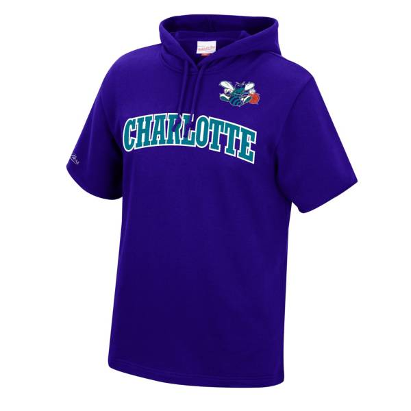 Mitchell & Ness Men's Charlotte Hornets Short Sleeve Hoodie product image