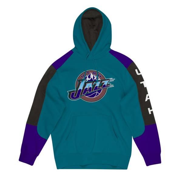Mitchell & Ness Men's Utah Jazz Fusion Hoodie product image