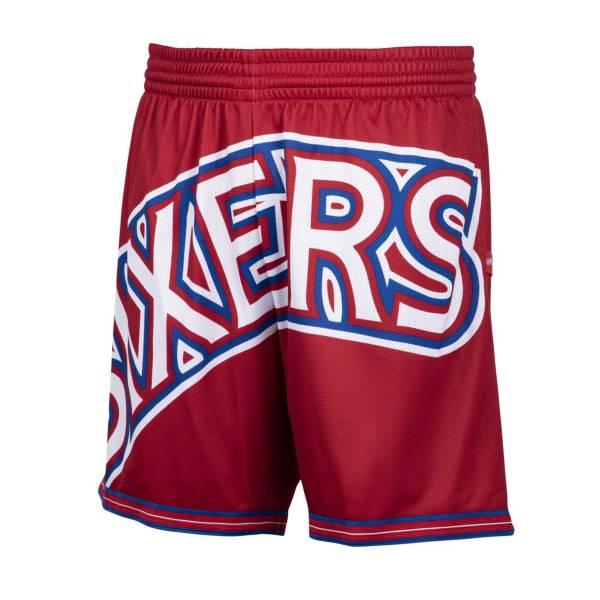 Mitchell & Ness Men's Philadelphia 76ers Big Face Shorts product image