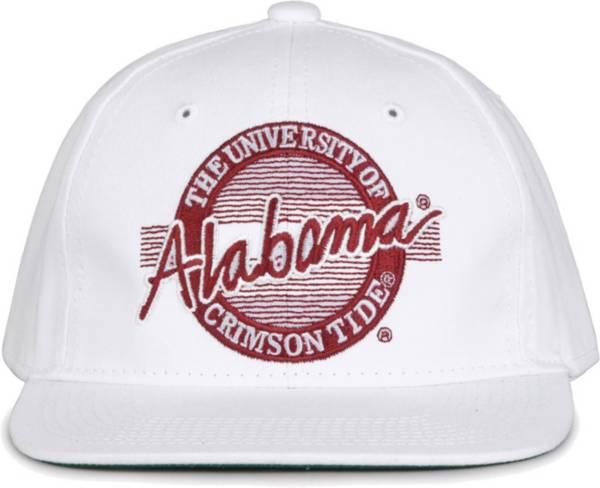 The Game Men's Alabama Crimson Tide White Circle Adjustable Hat product image