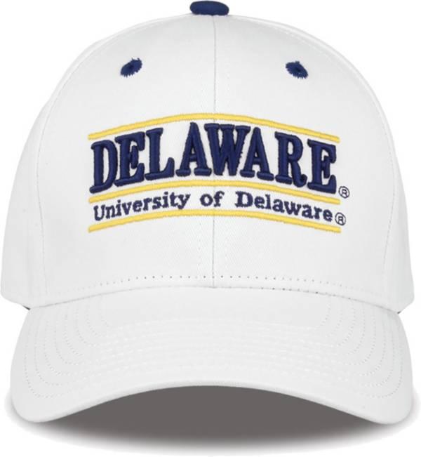 The Game Men's Delaware Fightin' Blue Hens White Bar Adjustable Hat product image