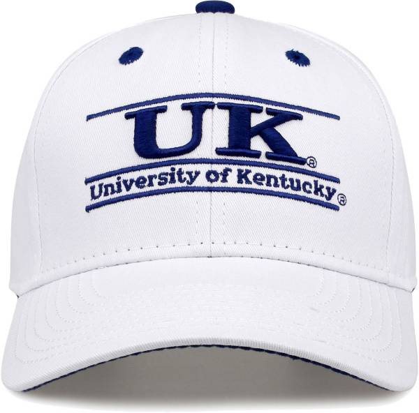The Game Men's Kentucky Wildcats White Bar Adjustable Hat product image