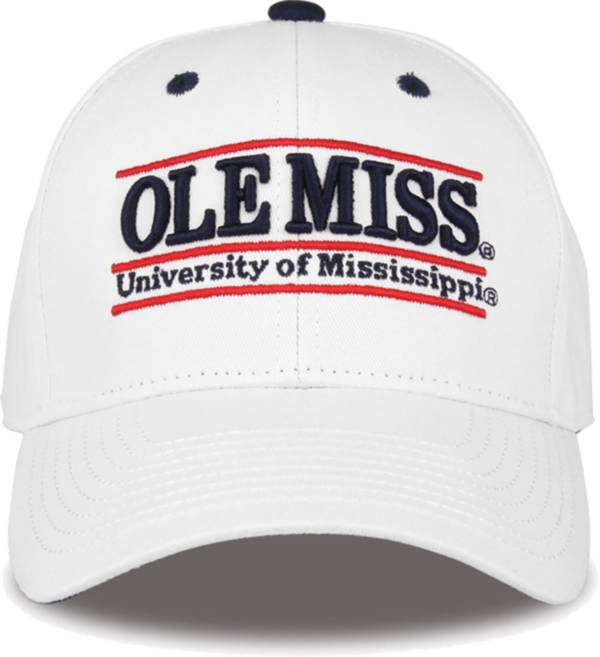 The Game Men's Ole Miss Rebels White Nickname Adjustable Hat product image