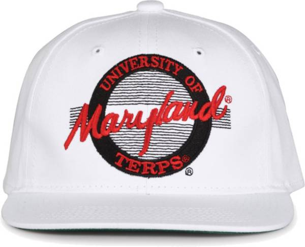 The Game Men's Maryland Terrapins White Circle Adjustable Hat product image