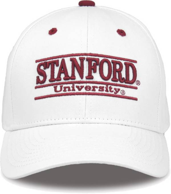 The Game Men's Stanford Cardinal White Bar Adjustable Hat product image