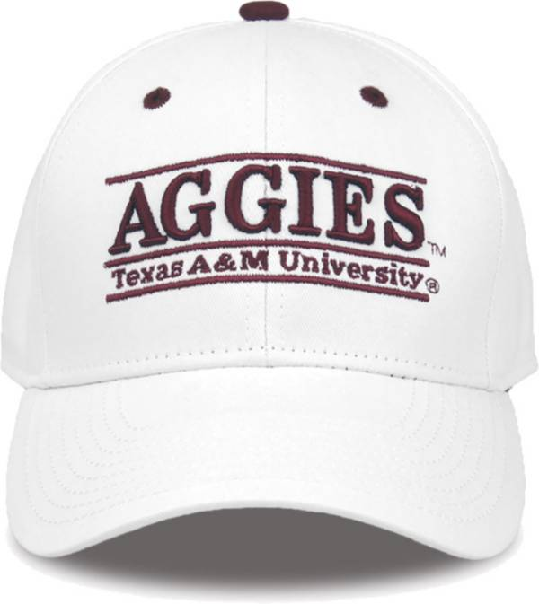 The Game Men's Texas A&M Aggies White Nickname Adjustable Hat product image