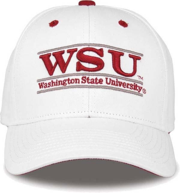 The Game Men's Washington State Cougars White Bar Adjustable Hat product image