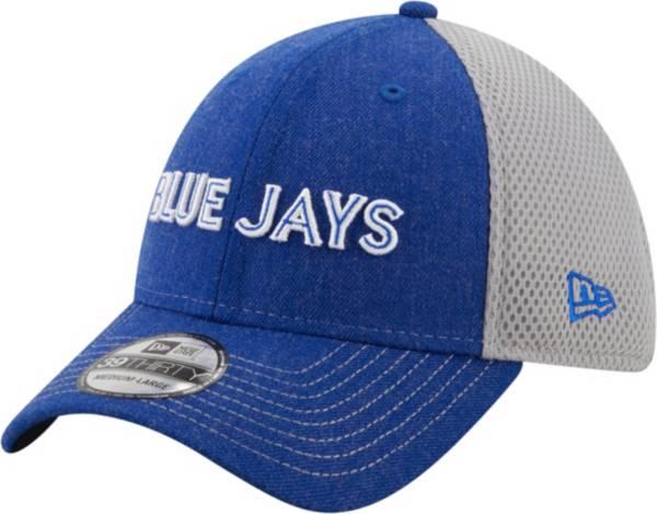 New Era Men's Toronto Blue Jays Blue 39Thirty Heathered Stretch Fit Hat product image
