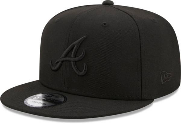 New Era Men's Atlanta Braves Black 9Fifty Color Pack Adjustable Hat product image