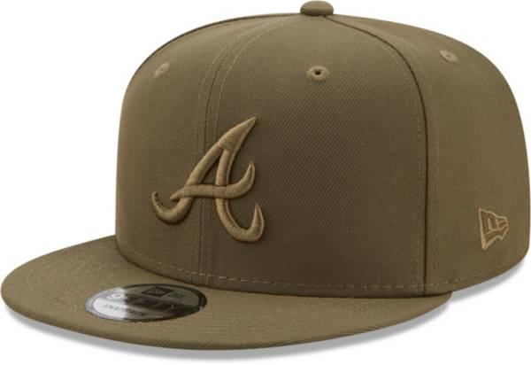 New Era Men's Atlanta Braves Green 9Fifty Color Pack Adjustable Hat product image