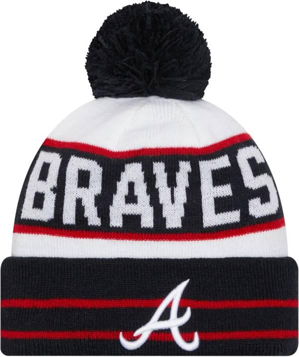 New Era Men's Atlanta Braves Navy Fan Favorite Knit Hat product image
