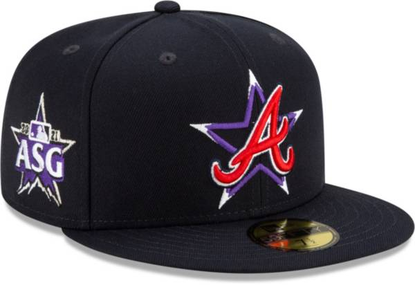 New Era Men's Atlanta Braves Navy 2021 All-Star Game Fitted Hat product image
