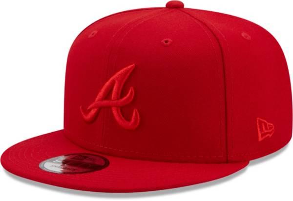 New Era Men's Atlanta Braves Red 9Fifty Color Pack Adjustable Hat product image