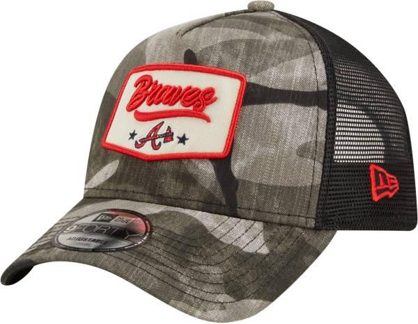 New Era Men's Atlanta Braves Camo Patch 9Forty Adjustable Hat product image