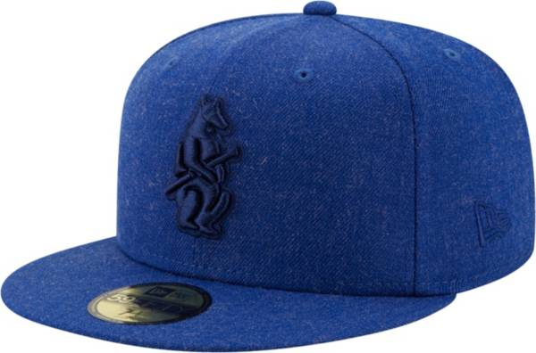 New Era Men's Chicago Cubs 59Fifty Blue Heather Classic Fitted Hat product image