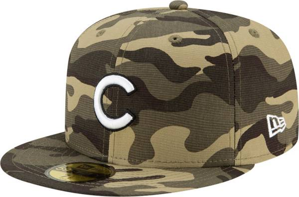 New Era Men's Chicago Cubs Camo Armed Forces 59Fifty Fitted Hat product image