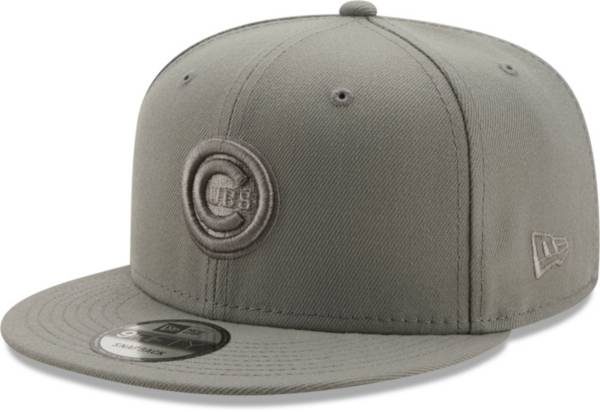 New Era Men's Chicago Cubs Grey 9Fifty Color Pack Adjustable Hat product image