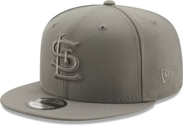 New Era Men's St. Louis Cardinals Grey 9Fifty Color Pack Adjustable Hat product image