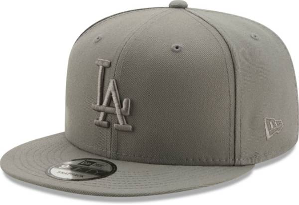 New Era Men's Los Angeles Dodgers Grey 9Fifty Color Pack Adjustable Hat product image