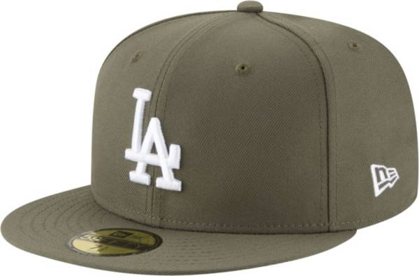 New Era Men's Los Angeles Dodgers 59Fifty Olive Fitted Hat product image