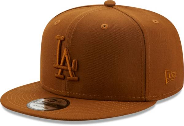 New Era Men's Los Angeles Dodgers Tan 9Fifty Color Pack Adjustable Hat product image
