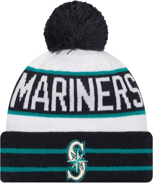 New Era Men's Seattle Mariners Navy Fan Favorite Knit Hat product image