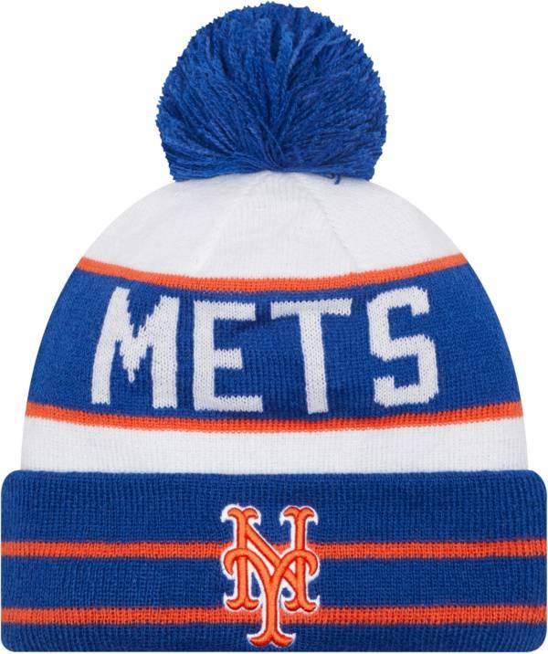 New Era Men's New York Mets Blue Fan Favorite Knit Hat product image