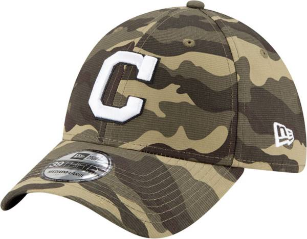 New Era Men's Cleveland Indians Camo Armed Forces 39Thirty Fitted Hat product image