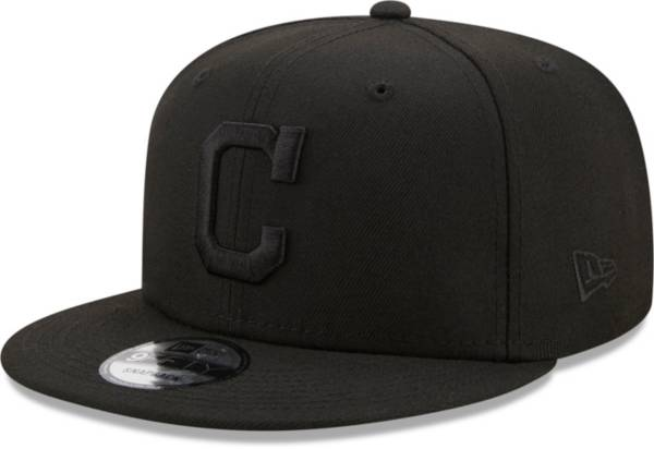 New Era Men's Cleveland Indians Black 9Fifty Color Pack Adjustable Hat product image