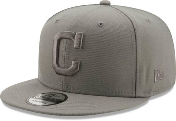 New Era Men's Cleveland Indians Grey 9Fifty Color Pack Adjustable Hat product image