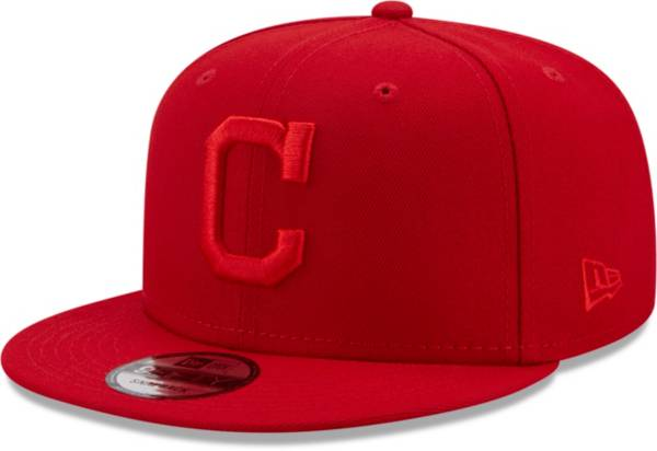 New Era Men's Cleveland Indians Red 9Fifty Color Pack Adjustable Hat product image