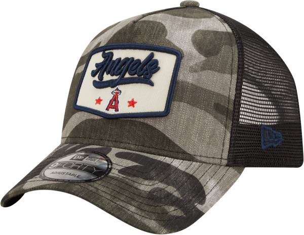 New Era Men's Los Angeles Angels Camo Patch 9Forty Adjustable Hat product image