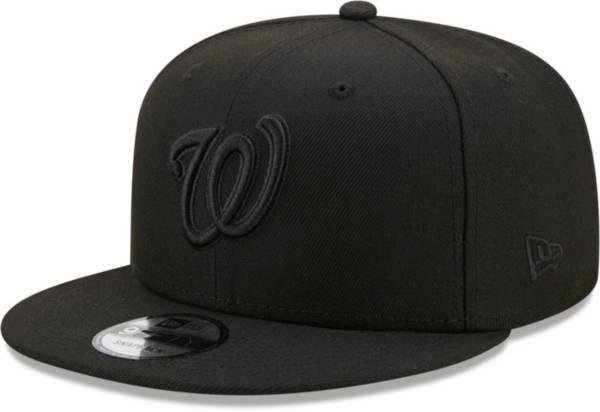 New Era Men's Washington Nationals Black 9Fifty Color Pack Adjustable Hat product image