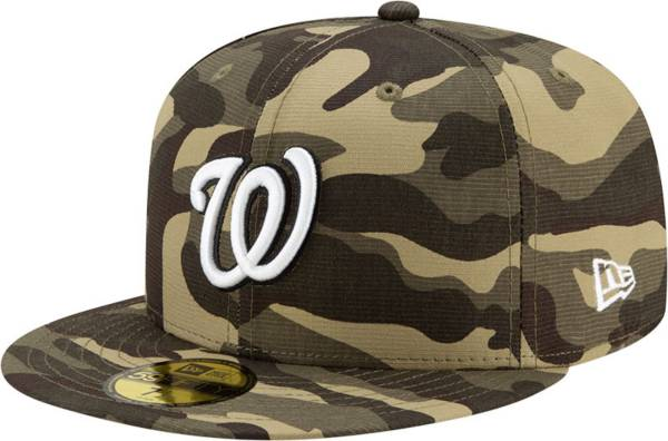 New Era Men's Washington Nationals Camo Armed Forces 59Fifty Fitted Hat product image