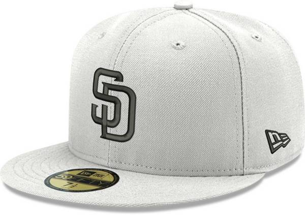 New Era Men's San Diego Padres White 59Fifty Fitted Hat product image