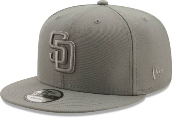 New Era Men's San Diego Padres Grey 9Fifty Color Pack Adjustable Hat product image