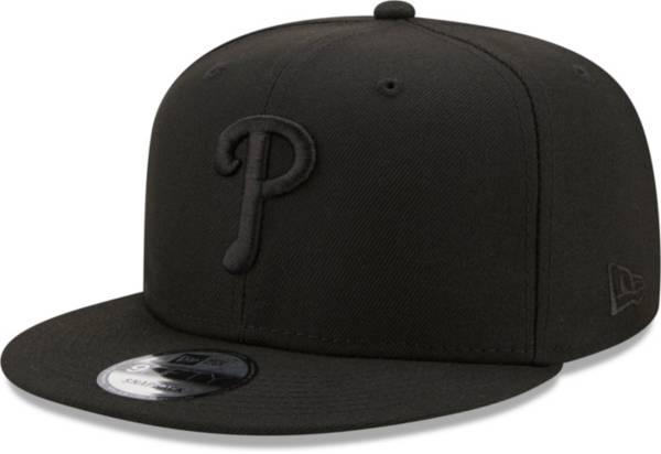 New Era Men's Philadelphia Phillies Black 9Fifty Color Pack Adjustable Hat product image