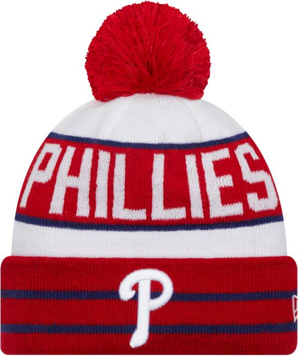 New Era Men's Philadelphia Phillies Red Fan Favorite Knit Hat product image