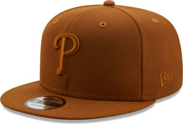 New Era Men's Philadelphia Phillies Tan 9Fifty Color Pack Adjustable Hat product image