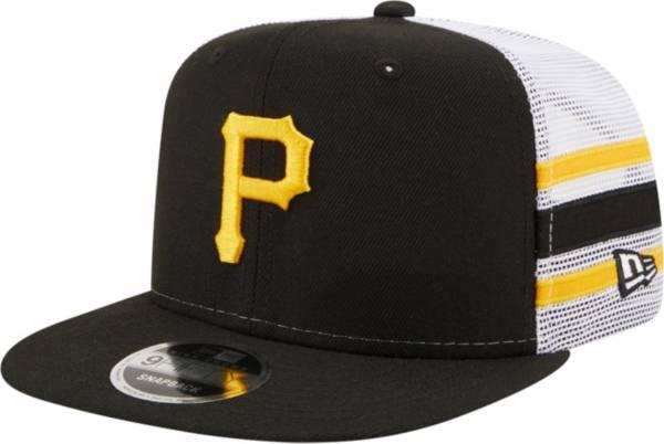 New Era Men's Pittsburgh Pirates 9Fifty Black Stripe Adjustable Hat product image