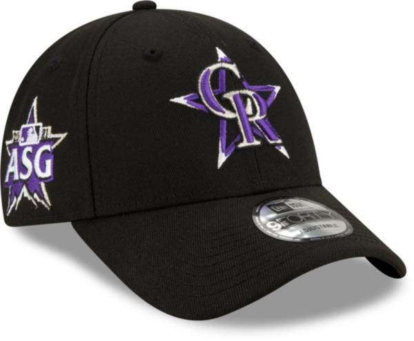 New Era Men's Colorado Rockies Black 2021 All-Star Game 9Forty Adjustable Hat product image