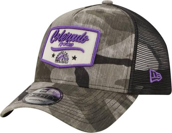 New Era Men's Colorado Rockies Camo Patch 9Forty Adjustable Hat product image