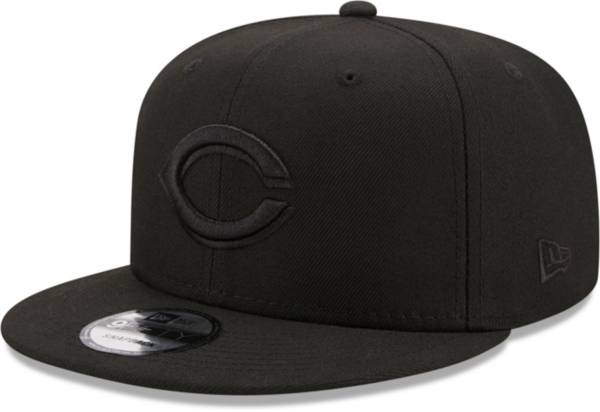 New Era Men's Cincinnati Reds Black 9Fifty Color Pack Adjustable Hat product image