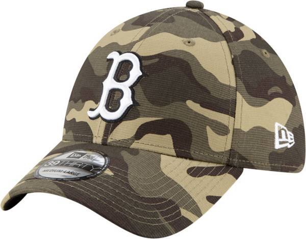 New Era Men's Boston Red Sox Camo Armed Forces 39Thirty Fitted Hat product image