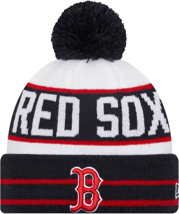 New Era Men's Boston Red Sox Navy Fan Favorite Knit Hat product image